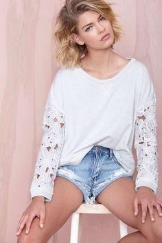 Vanessa Sweatshirt - Sweatshirts |  | Newly Added | Tops