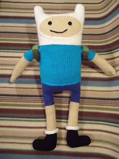 Wow I really need to learn how to crochet so that I can make this awesome Finn the human doll!