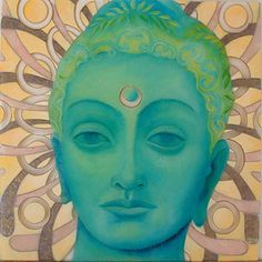 "#kwan yin #bodhisattva #goddess  ""Sacred Reflection"" by Robin Urton  via www.eyeconart.net"