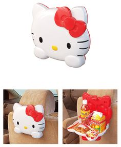 Hello Kitty Snack Carrier for the Car