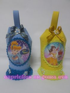 dulceros de goma eva