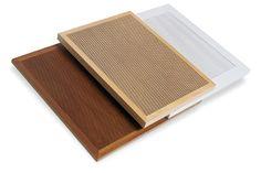 Quadrillo Natural Wood Acoustical Panel - Decoustics