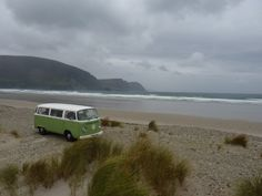Our camper SUE in the West of Ireland