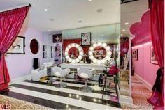 Beauty Salon in your closet? hmmm