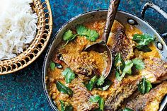 Red snapper coconut curry. Photographed by Martin Poole