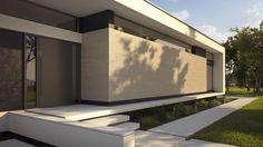 1fh Architecture Artists, Residential Architecture, Contemporary Architecture, Architecture Details, Building Exterior, Building Design, Cool House Designs, Modern House Design, Studio Apartment Plan