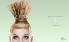 Brooms have never been attractive. Use Conditioner.  Advertising Agency: Alazraki Transmedia Network, Mexico City, Mexico