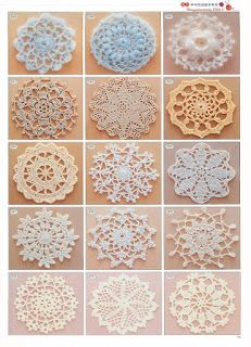 2180 crochet patterns for if I ever need them. I would love to be able to crochet. Crochet Diy, Crochet Motifs, Crochet Squares, Thread Crochet, Love Crochet, Crochet Crafts, Crochet Doilies, Yarn Crafts, Crochet Flowers