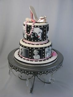 Marilyn Monroe I want this cake!!!