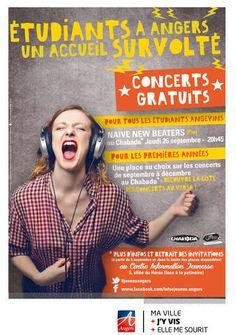 Étudiants à Angers ? Un accueil survolté ! : Portail Jeunesse - Angers.fr