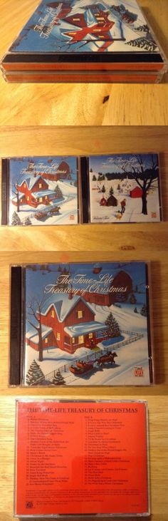 Christmas Songs And Album: The Time Life Treasury Of Christmas Lot Of 4 Cds Christmas Music 92 Classics -> BUY IT NOW ONLY: $25.0 on eBay!