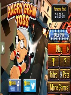 The game Angry Gran Toss is the extension of a successions about a spiteful aged female, who terrorizes uncomplicated nationals. After all transgressions there s an actual capturing on the aged femal Free Apps For Iphone, Free Android, Free Mobile Games, Free Games, Maze Game, Unique Animals, Unique Pets, First Game, Tossed