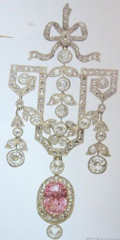 Faberge Diamond Brooch More