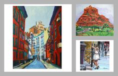 http://www.etsy.com/shop/GwenMeyerson Cityscape, Figurative and Urban original fine art paintings on canvas.You will find wonderful one-of-a-kind paintings that reflect my studies of people and places