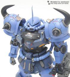 www.pointnet.com.hk - 改裝作品 MG 1/100 MS-07B-3 GOUF CUSTOM +改裝件