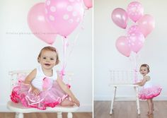 """one year balloon photo shoot ideas 