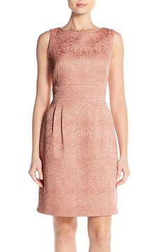 Tahari Jacquard Sheath Dress (Regular & Petite) available at #Nordstrom