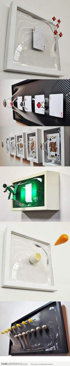 3D arts in glass