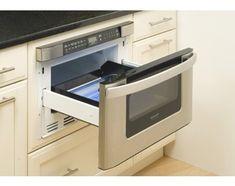 Microwave Ovens in a Kitchen Island - Universal Appliance and Kitchen Center   Blog Microwave Drawer, Built In Microwave, Sharp Microwave, Microwave Convection, Island Microwave, Kitchen On A Budget, New Kitchen, Kitchen Decor, Kitchen Ideas