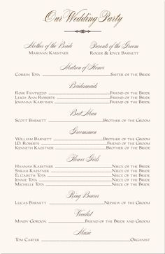photograph regarding Free Printable Wedding Program Templates known as 35 Excellent printable wedding day applications visuals inside 2014