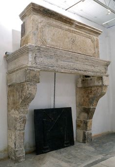 11876-175 Chateau Domingue Louis XIV Trumeau Cheminee