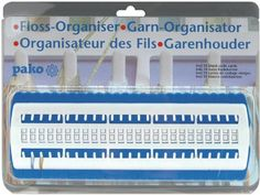 Pako Floss Organizer 4 by 11 by 1Inch -- Find out more about the great product at the image link.