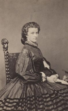 Princess Mathilde Ludovika in Bavaria married for love her eccentric cousin Duke Maximilian Joseph in Bavaria, who was of lesser rank than the princess.  Ludovika was pitied as three of her sisters became queens and one became an archduchess.  Max and Ludovika had seven surviving children, including Empress  Elizabeth of Austria-Hungary.