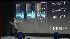 Sony unveils Xperia T, V, and J smartphones. Check them out here: http://cnet.co/O31QJ2 #IFA