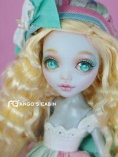 """Monster High redesenhar Custom Ooak Golden """"açúcar"""" By Mango A Cabana in Bonecas e ursinhos, Bonecas, Por marca, empresa, personagem   eBay"""