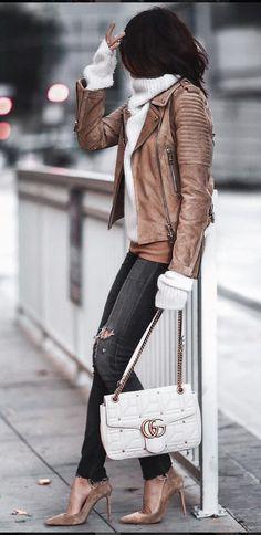 Suede Jacket Sweater Weather | #MichaelLouis - www.MichaelLouis.com