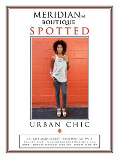 Spotted! Urban Chic.