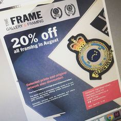 Let's #throwbackthursday to approximately 2 weeks ago when we sent this email campaign for our client @theframegallery!  To say it was very successful was an understatement! So much so Jan had to keep the shop open longer and brought us a round of drinks to say thanks 🍸  We do love it when a plan comes together. Don't you? If you want to discuss email communications please do get in touch on 01256 614921.  #emailcampaigns #design #copywriting #newsletter #happyclient #tbt #potd #business…