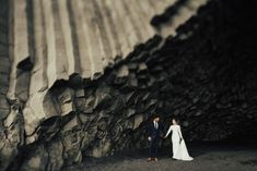 Bride and Groom in Iceland - Iceland elopement - adventurous wedding photography - getting married in Iceland - The Rowlands Photography and Filmmaking