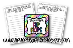 These are printable letter papers that you can print out. One is for students to write their parents a note, and the other is a paper for parents to write back to their students at open house night. Back To School Night, First Day Of School, Merida, Open House Letters, Flip Flop Shop, Flip Flops, Open House Night, Welcome To School, Parent Night