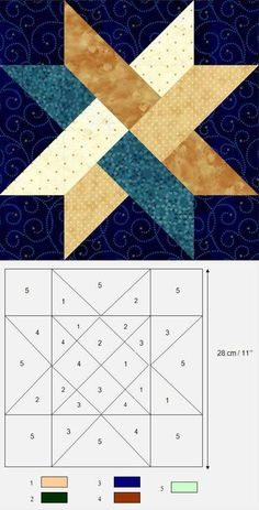 Patchwork square scheme