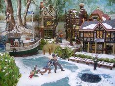 Christmas Village Ideas | inspiratie | Celebrate: Christmas Village Ideas