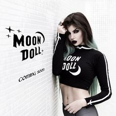 It's coming for you! So proud to create this together with we all have been working non stop. Goth Beauty, Dark Beauty, Fantasy Women, Fantasy Girl, Rockabilly, Goth Look, Black Lipstick, Queen, Death Metal