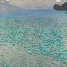 Gustav Klimt, Attersee, 1910