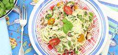 A Ridiculously Delicious (Raw!) Pasta Primavera