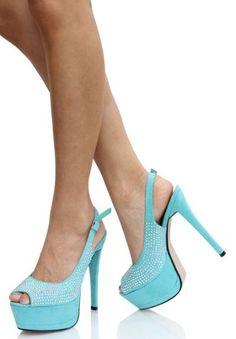 blue  #shoe,  #glam  #fashion