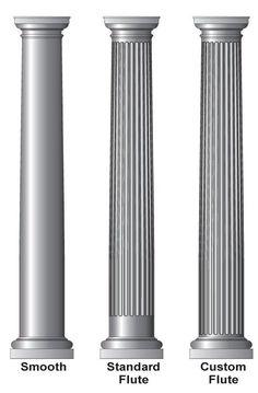 Tuscan design – Mediterranean Home Decor Interior Columns, Interior Design Elements, Luxury Interior Design, Interior And Exterior, Tuscan Design, Tuscan Style, Fiberglass Columns, Front Porch Columns, Pillar Design