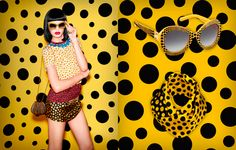 Kusama moved their particular psychotropic universe topos as wisely distributed, primary colors, fantasy, to the garments of the next season of Louis Vuitton . Yayoi Kusama and Louis Vuitton collaboration new ready-to-wear for next season 2013 »Bellezapura