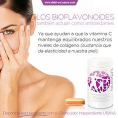 Los Bioflavonoides de la Uva, actúan también como Antioxidantes.