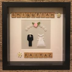 "Beautiful personalised Wedding Frame  Size: 23 x 23cm (9 x 9"") #frame #handmade #handcrafted #handmadeframe #keepsake #lovedones #wedding #weddingframe #weddingideas #bride #weddingdress #groom #blacksuit #rose #weddinggift #gift #giftidea #family #friends #couple #blackframe #creative #craft #art #loveframes #instacool #leicester #leicestergram by handmade_personalised_frames"