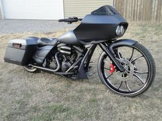 2011 FLTRX Custom Bagger built by Guerra Custom Motorcycles
