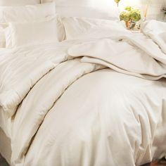 Organic Cotton Sateen Bedding Collection — Duvet