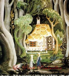 Kay Nielsen and Brothers Grimm 1983 Snowdrop and Hansel and Gretel