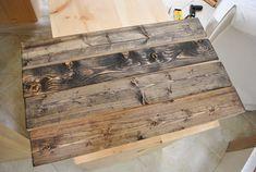 DIY: Making New Wood Look Old