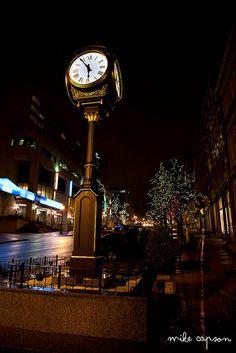 Saint John : 225 Clock on King Street by Mike Capson, via Flickr