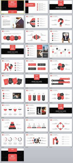 2 in1 Business Report PowerPoint Templates Template Pinterest - business reporting templates
